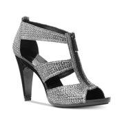 a0d6a4148313 Michael Kors MK Women's Berkley T-Strap Glitter Chain Mesh Dress Sandals  Shoes (7