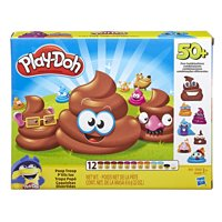 Play-Doh Poop Troop Set with 12 Cans Play-Doh, Ages 3 and up