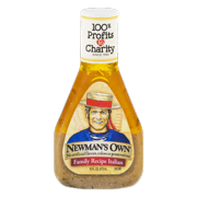 (2 Pack) Newman's Own Family Recipe Italian Dressing - 16 Oz