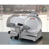 """Zeny Commercial 10"""" Blade Deli Meat Slicer 240w 530RPM Food Cheese Electric slicer"""