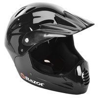 Razor Youth, Full Face Multi-Sport Helmet, Glossy Black, For Ages 8-14
