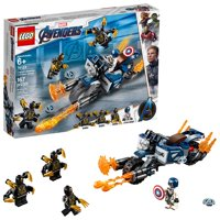LEGO Super Heroes Marvel Captain America: Outriders Attack 76123