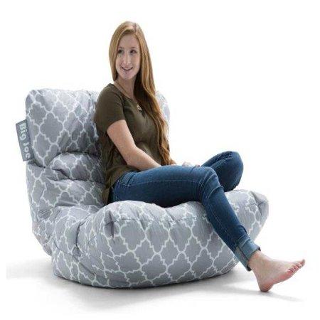 Big Joe Roma Floor Bean Bag Chair, Multiple Colors/Fabrics ...