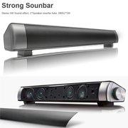 Powerful 360° Sound Bar TV Soundbar Stereo Wireless Hifi Bluetooth Home Theater Speaker 3D Surround