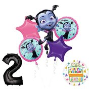 Mayflower Products Vampirina 2nd Birthday Balloon Bouquet Decorations And Party Supplies
