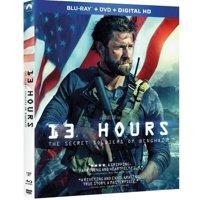 13 Hours: The Secret Soldiers Of Benghazi (Walmart Exclusive) (Blu-ray + DVD + Digital HD)