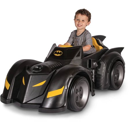 Batman Batmobile 6 Volt Battery Powered Ride On Walmart Com
