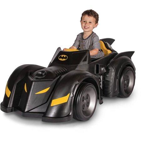 Batman Batmobile 6-Volt Battery-Powered Ride-On](Batmobile For Kids)