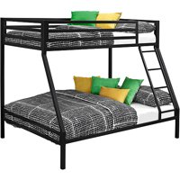Mainstays Premium Twin over Full Bunk Bed, Multiple Colors