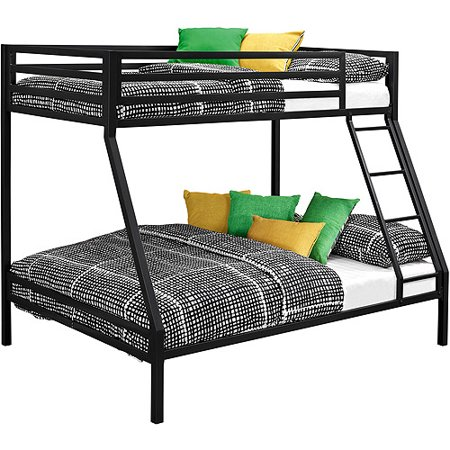 Mainstays Premium Twin Over Full Bunk Bed Multiple Colors Walmart Com