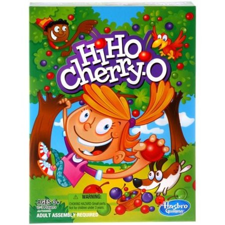 Classic Hi Ho Cherry-O Kids Board Game, for Preschoolers Ages 3 and up - Kids Games For 6 Year Old Boy