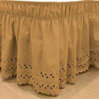 EasyFit™ Wrap Around Eyelet Ruffled Bed Skirt