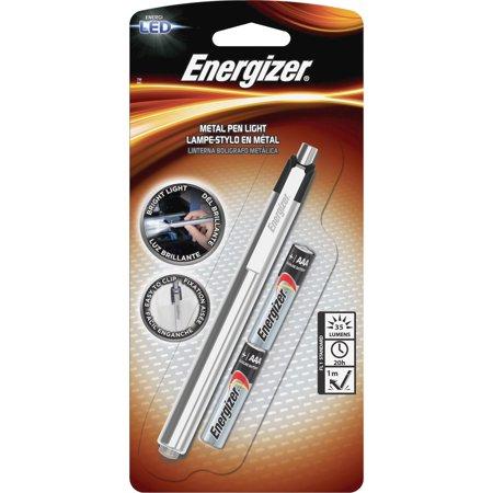 Energizer, EVEPLED23AEH, LED Pen Light, 1 Each, Silver