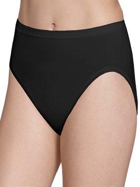 Women's Seamless Hi-Cut Panties - 6 Pack
