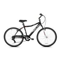 "NEXT 26"" Men's, Avalon Comfort Bike with Full Suspension, Black"