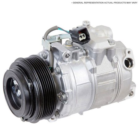 Reman AC Compressor & A/C Clutch For Buick Regal Oldsmobile Cutlass Supreme ()