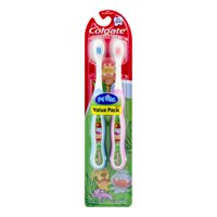Colgate My First Baby and Toddler Toothbrush, Extra Soft - 2 Count