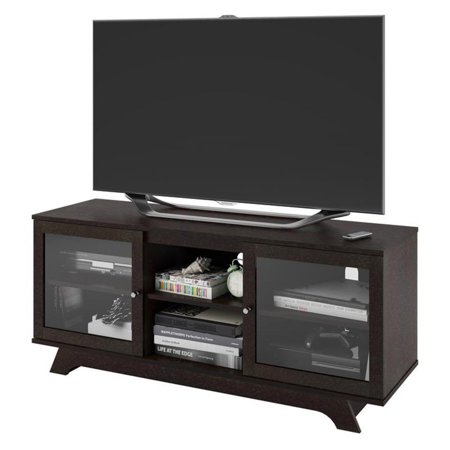 Ameriwood Home Englewood Tv Stand For Tvs Up To 55 Espresso