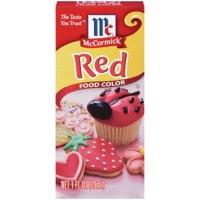 (3 Pack) McCormick Red Food Color, 1 fl oz