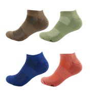 a29fbe3f03be5 Men s Rayon from Bamboo Colored Sports Superior Wicking Athletic Running  Ankle Socks - Assortment 98 -