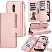 Tekcoo Wallet Case LG Stylo 4 / LG Stylo 3 / LG Q Stylo, Luxury