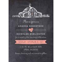 Country Chic Barn Standard Wedding Invitation