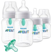 Philips Avent Anti-colic Bottle with AirFree vent Gift Set Walmart, SCD390/01