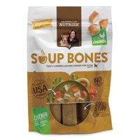 (2 Pack) Rachael Ray Nutrish Soup Bones Dog Treats, Chicken & Veggies Flavor, 6.3oz