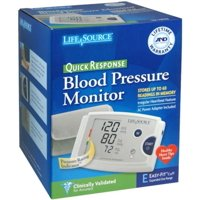 LifeSource Quick Response Blood Pressure Monitor UA-787EJ 1 Each