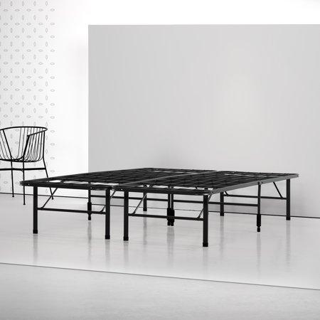 Spa Sensations By Zinus Steel Smart Base Bed Frame Black Multiple