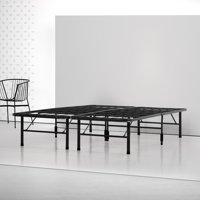 Spa Sensations by Zinus - Shawn Steel Smart Base Bed Frame Black, Multiple Sizes