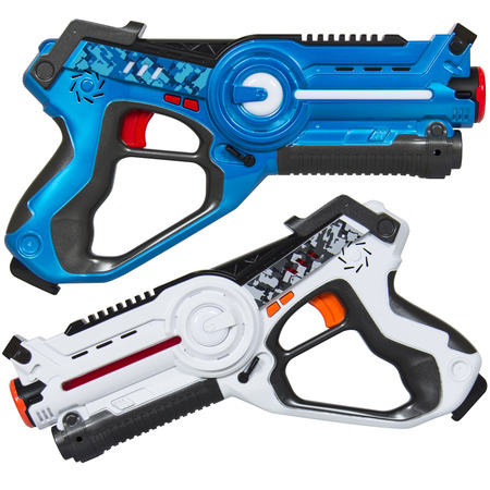 Best Choice Products Kids Laser Tag Set w/ Multiplayer Mode, 2 - Laser Blue Pearl
