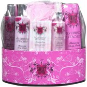 Sweet Couture: Body Wash, Massaging Soap, Body Lotion, Body Mist, Body Powder No Strings Attached, 1 ct