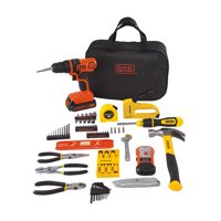 STANLEY BLACK+DECKER 20-Volt MAX* 85-Piece Drill Kit, BDPKSBD69CWM