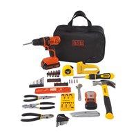 STANLEY BLACK+DECKER 20-Volt MAX* 85-Piece Drill Kit, BDPKSBD69CWM