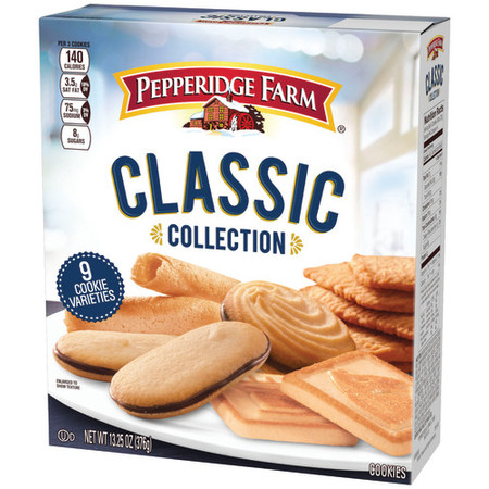 Pepperidge Farm Classic Collection Cookies, 13.25 oz. Box - Boxes For Cookies