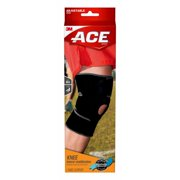 ff4a6c2f89 ACE Knee Brace with Dual Side Stabilizers, Adjustable, Black/Gray