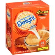 (6 Pack) International Delight Reese's Peanut Butter Cup Creamer Singles, 24 Ct