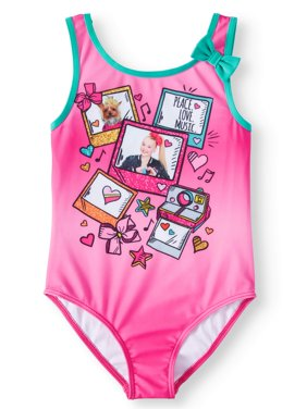 JoJo Graphic One-Piece Swimsuit (Little Girls & Big Girls)