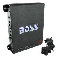 Boss R1100M Riot 1100 Watt Monoblock Class A/B Car Audio Amplifier + Bass Remote
