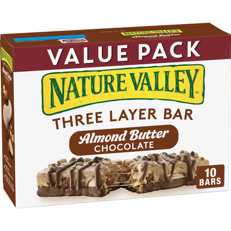 Nature Valley Almond Butter Layered Granola Nut Bars, 13.8 oz