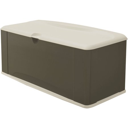 Groovy Rubbermaid 121 Gallon Deck Box With Seat Theyellowbook Wood Chair Design Ideas Theyellowbookinfo