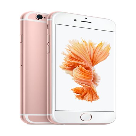 Walmart Family Mobile Apple iPhone 6s 32GB, Rose Gold