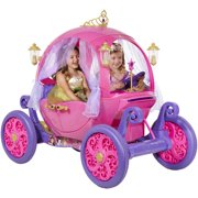 24V Disney Princess Carriage Ride-On for Girls by Dynacraft