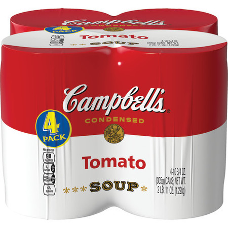 (8 pack) Campbell's Condensed Tomato Soup, 10.75 oz cans