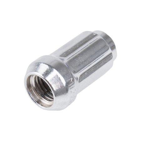 Motosport Alloys Spline Drive Tapered Lug Nut Thread Pitch Chrome - Fits: Kawasaki MULE 3010 4X4 Diesel 2003-2008 (4 Pack)