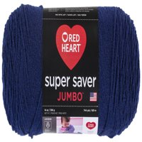 Red Heart Super Saver Yarn, SOFT NAVY