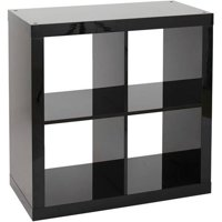 Better Homes and Gardens Square 4 Cube Storage Organizer, Multiple Colors