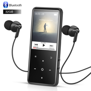 a80a14eab AGPTEK 32GB MP3 Player Bluetooth 4.0 with 2.4 Inch TFT Color Screen,  FM/Voice