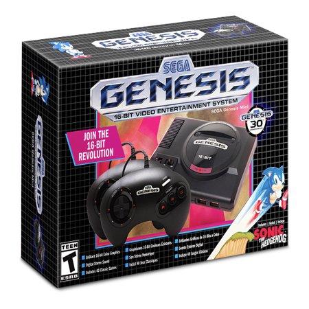 Sega Genesis Mini, Sega, Universal, Black,